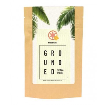 GROUNDED COFFEE SCRUB MANGO & PAPAYA 200g