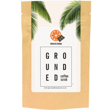 GROUNDED COFFEE SCRUB CHOCOLATE ORANGE 200g
