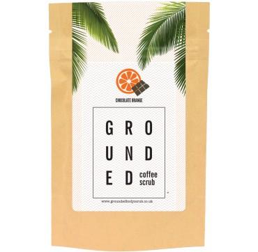 Grounded Coffee Scrub Chocolate Orange 200g