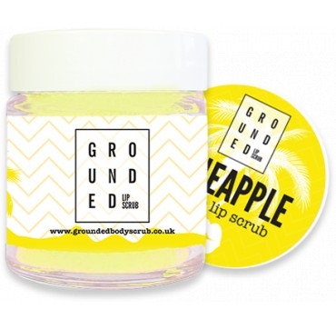 GROUNDED EDIBLE LIP SCRUB PINEAPPLE 30g