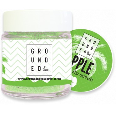 GROUNDED EDIBLE LIP SCRUB APPLE 30g