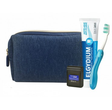 ELGYDIUM DENTAL TRAVEL KIT ΜΠΛΕ