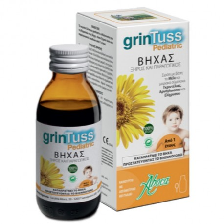 ABOCA GRINTUSS PEDIATRIC BIO ΠΑΙΔΙΚΟ ΣΙΡΟΠΙ 210gr