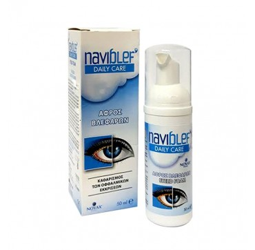 NOVAX PHARMA NAVIBLEF DAILY CARE EYELID FOAM 50ML