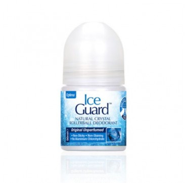 Optima Ice Guard Natural Crystal Rollerball Deodorant 50ml