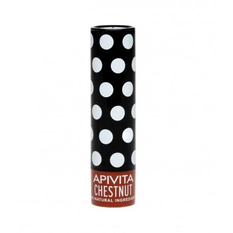 APIVITA LIP CARE CHESTNUT 99% ΦΥΣΙΚΗ ΣΥΝΘΕΣΗ 4.4GR