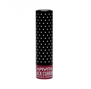Apivita Lip Care Black Currant 99% Φυσική Σύνθεση 4,4gr