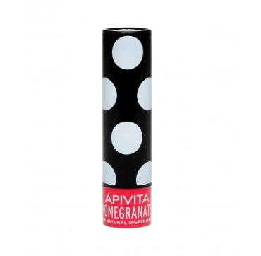 Apivita Lip Care Pomegranate 98% Φυσική Σύνθεση 4,4gr