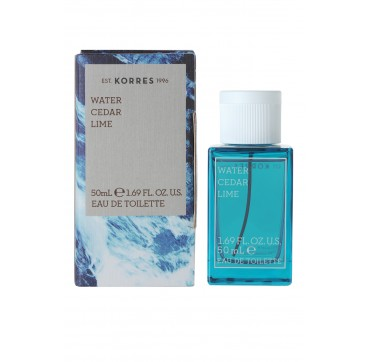 KORRES WATER CEDAR LIME 50ml