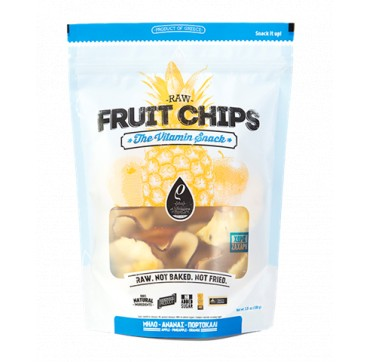RHO FOODS RAW FRUIT CHIPS ΜΗΛΟ-ΑΝΑΝΑΣ-ΠΟΡΤΟΚΑΛΙ 100g