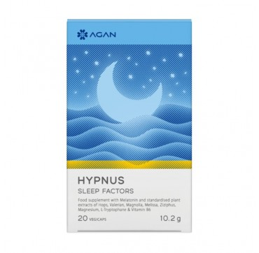 AGAN Hypnus Sleep Factors 20 Vegicaps