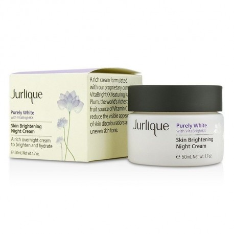 JURLIQUE PURELY WHITE BRIGHT NIGHT CREAM 50ml