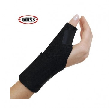 John's Wrist Support Spika Wrap Around Black Line (One size: S-XL,Ref:120217)
