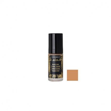 Korres Μαύρη Πεύκη Make Up Ανόρθωση Συσφιξη & Λάμψη Απόχρωση BPF4 30ml