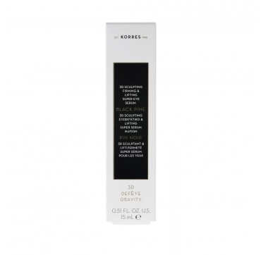 Korres Μαύρη Πεύκη 3D Sculpting Firming & Lifting Super Serum Ματιών 15ml