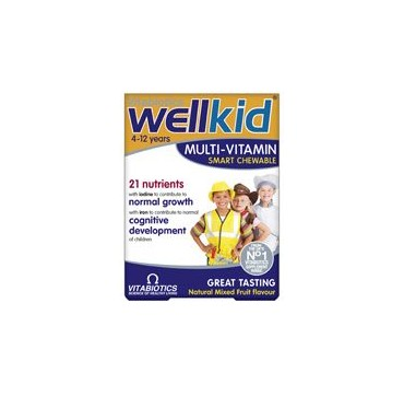 VITABIOTICS WELLKID MULTI-VITAMIN 30 chew.tabs