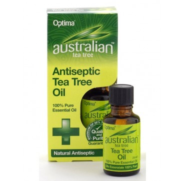 OPTIMA AUSTRALIAN ANTISEPTIC TEA TREE OIL 25ml