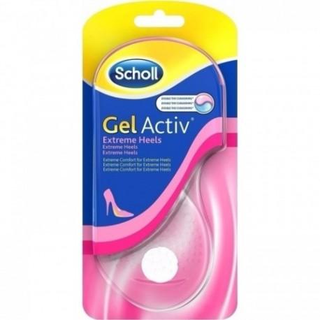 Scholl Gel Activ Extreme Heels (Νο 35-40.5) 2τμχ