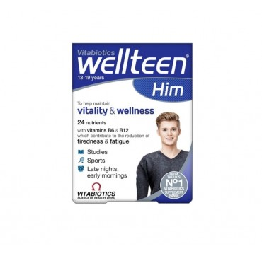 VITABIOTICS WELLTEEN HIM 30tabs