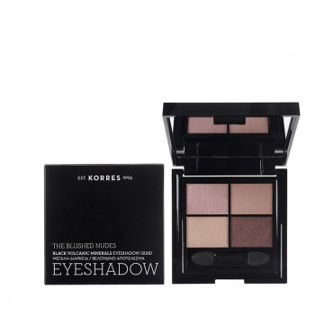KORRES EYESHADOW QUAD THE BLUSHED NUDES 5g