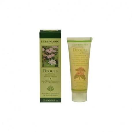 L'Erbolario Deodoranti (Deogel alla Menta Acquatica & alla Vitamina E) 50ml