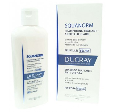 DUCRAY ΣΑΜΠΟΥΑΝ SQUANORM ΚΑΤΑ ΤΗΣ ΞΗΡΗΣ ΠΙΤΥΡΙΔΑΣ 200ml