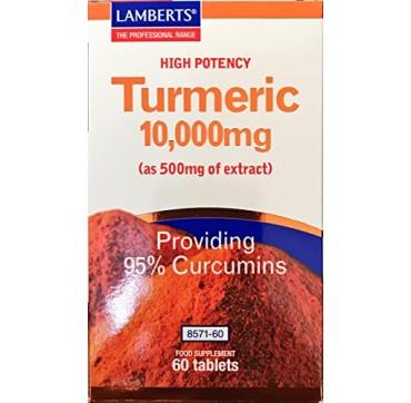 LAMBERTS TURMERIC 10.000mg 60tabs