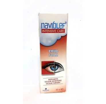Naviblef Intensive Care Eyelid Foam 50ml