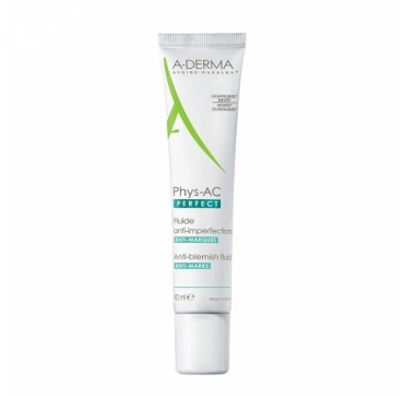 A-DERMA PHYS-AC PERFECT ANTI-BLEMISH FLUID 40ml
