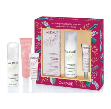 CAUDALIE VINOSOURCE SET HYDRATION MUST-HAVES 3 τεμ.