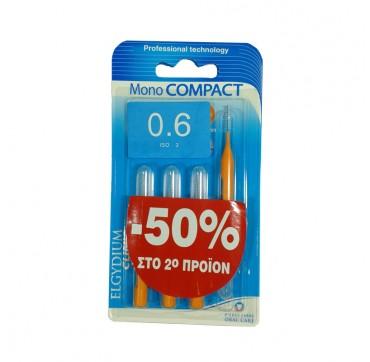 ELGYDIUM CLINIC MONO COMPACT 0.6 1+1 ΜΕ 50% ΣΤΟ 2ο ΠΡΟΪΟΝ 4 ΤΕΜ.