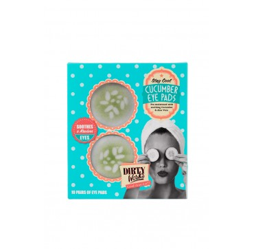 DIRTY WORKS STAY COOL CUCUMBER EYE PADS 10x8ml