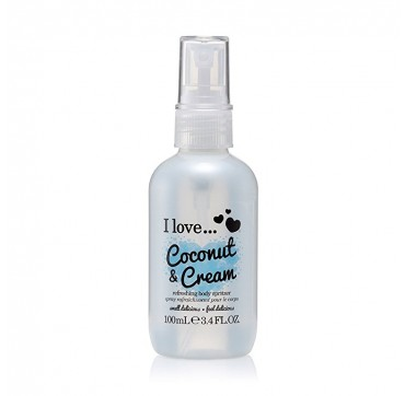 I LOVE COSMETICS Refresing Body Spritzer Coconut & Cream 100ml