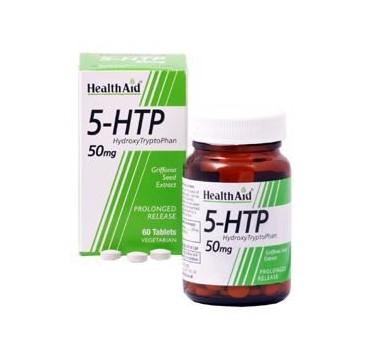HEALTHAID 5-HTP HYDROXY TRYPTOPHAN 50mg 60tabs