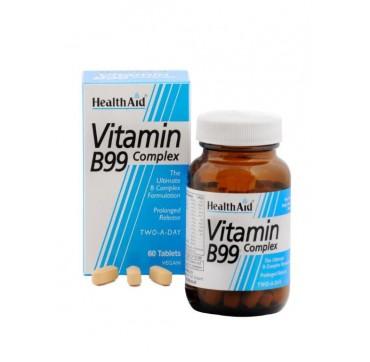 HEALTHAID VITAMIN B99 COMPLEX 60tabs