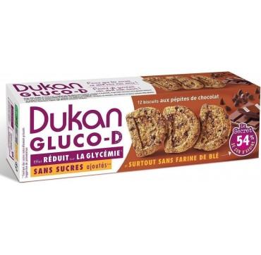 Dukan Gluco-d Μπισκότα Βρώμης Με Κομμάτια Σοκολάτας 100g