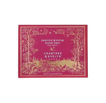 CRABTREE & EVELYN WINTER HAND TRIO 3ΤΕΜ x 25ml
