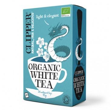 CLIPPER ORGANIC WHITE TEA ΒΙΟΛΟΓΙΚΟ ΛΕΥΚΟ ΤΣΑΪ 26teabags