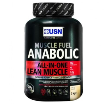 USN MUSCLE FUEL ANABOLIC ALL IN ONE ΓΕΥΣΗ ΒΑΝΙΛΙΑ 2kg