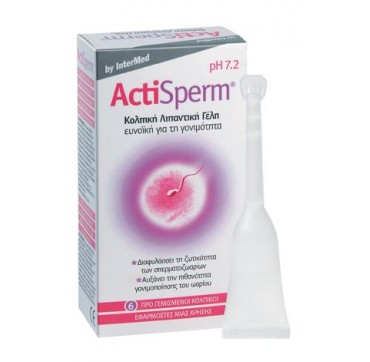 INTERMED ACTISPERM PH 7.2 6x5ml