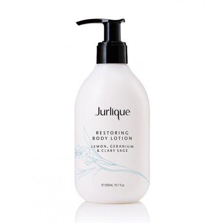 JURLIQUE RESTORING BODY LOTION LEMON, GERANIUM & CLARY SAGE 300ml