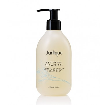 JURLIQUE RESTORING SHOWER GEL LEMON, GERANIUM & CLARY SAGE 300ml
