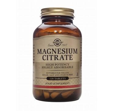 Solgar Magnesium Citrate 200mg 120tabs