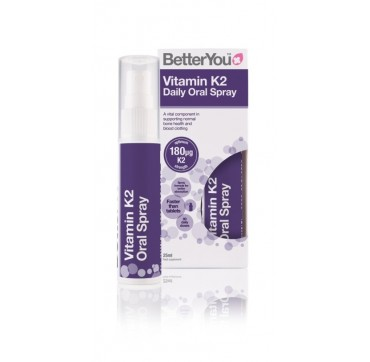 Better You Vitamin K2 Daily Oral Spray 180mg 25ml