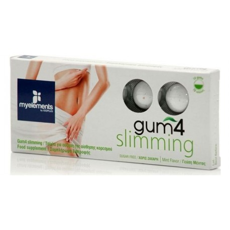 MYELEMENTS GUM4 SLIMMING 10 gums