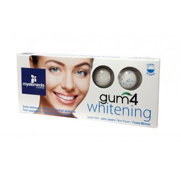 MYELEMENTS GUM4 WHITENING 10 gums
