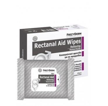 Frezyderm Rεctanal Aid Wipes 20pc