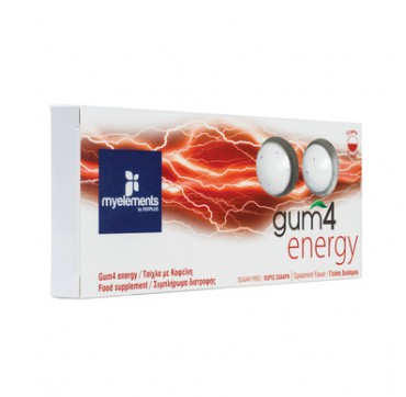 MYELEMENTS GUM4 ENERGY 10 gums