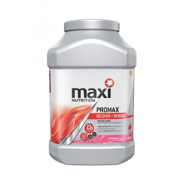 Maxinutrition Maximuscle Promax Recover + Rebuild Πρωτεϊνη Strawberry 960g