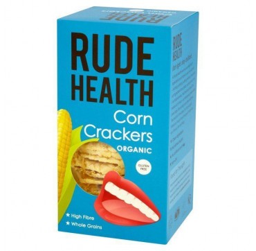 RUDE HEALTH ORGANIC CORN CRACKERS 130gr